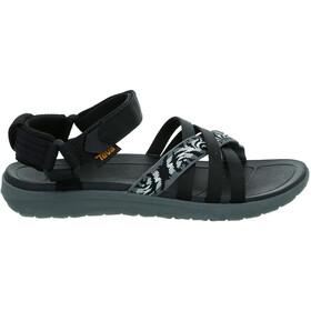 Teva Sanborn sandaalit Naiset, thena gray/black
